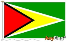 -GUYANA  ANYFLAG RANGE - VARIOUS SIZES